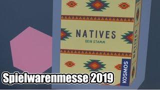 Spielwarenmesse: Kosmos mit der Neuheit Natives - Dein Stamm