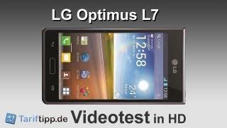 LG Optimus L7   Handytest in HD (deutsch)