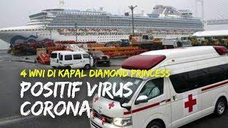 Ada 4 WNI Positif Virus Corona di Kapal Diamond Princess, KBRI Beri Pendampingan