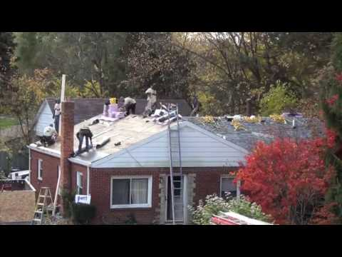 Owens Corning and Arnold's Home Improvement teamed up to replace the roof of Korean War Veteran Wayne McGee. This is the roof replacement from start to finish