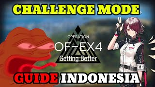 Exusiai  - (Arknights) - [Arknights] Obsidian Festival CLEAR Stage OF-EX4 CHALLENGE MODE + Exusiai Arknights Indonesia
