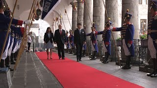 Vice President Mike Pence Visits the President of Ecuador