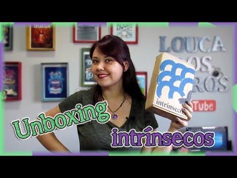 UNBOXING Intrínsecos 003 - Dezembro | Louca dos livros 2018