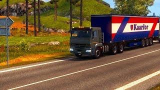 Euro Truck Simulator 2 мод Камаз (65115 — 65116)