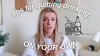 How I Stopped Drinking Alcohol in 2020: Tips for Quitting Drinking on Your Own