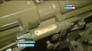 Народный умелец из Ольховского района создал точную копию советской пушки