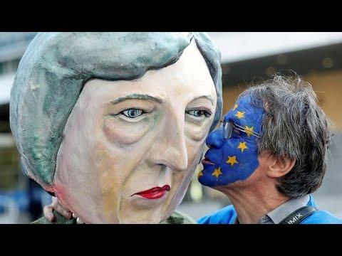 العرب اليوم - شاهد: احتجاجات في بروكسل على قمة البريكست بالمجلس الأوروبي