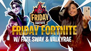 FRIDAY FORTNITE TOURNAMENT WITH FAZE SWAY