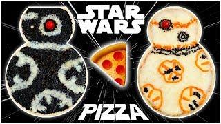 BB-8 & BB-9E PIZZAS - STAR WARS - NERDY NUMMIES