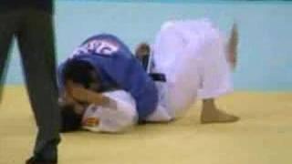 北京プレ五輪男子柔道66㎏級銀メダル内柴正人