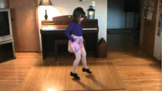 "Molly - Tapping to ""The Dance You Choose"" sung by Aselin Debison"