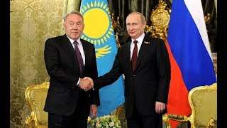 Путин и Назарбаев на Форуме  сотрудничества России и Казахстана