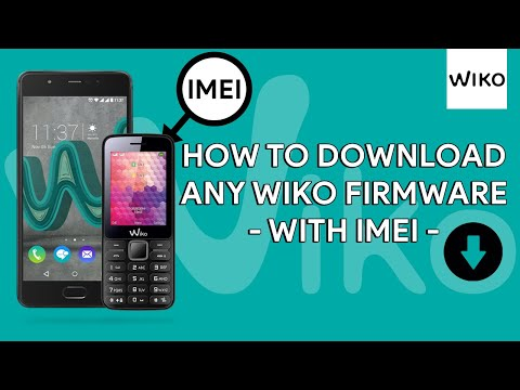 How To Download Any Wiko Firmware With IMEI - [romshillzz]