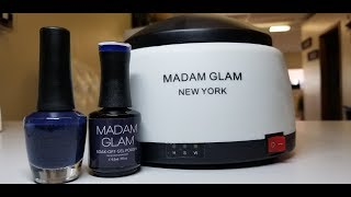 Madam Glam Steam off Gel Remover Review / Demo and...... Giveaway!! (CLOSED)