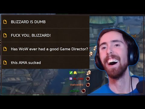Asmongold Reacts to People Complaining About the WoW AMA on the General Forums With Mcconnell