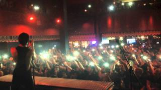 The Word Alive - Astral Plane (Live) HD (Backstage View) Joliet, Illinois - Mojoes 11/23/13