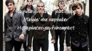 Replace your Heart- the wanted (Lyrics)