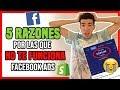 ❌ Las 5 RAZONES Por Las Que Facebook Ads NO TE FUNCIONA En 2018 I Shopify Dropshipping [Español]