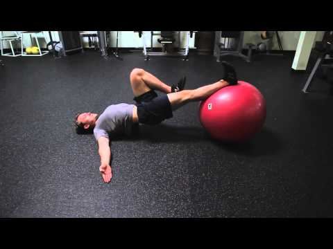 Nate - Single Leg Swiss Ball Leg Curl