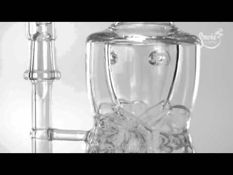 The Tempest Inverted Showerhead Internal Recycler Bent Neck Rig on Youtube