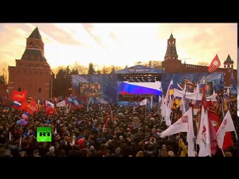 Любэ. Родина-Мать Мы вместе! Митинг-концерт! / Crimea Russia