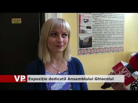 Expoziție dedicată Ansamblului Ghiocelul
