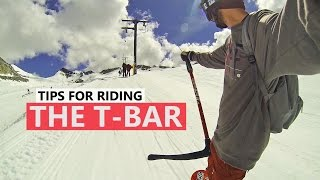 #20 Snowboard begginer – How to ride the T-bar