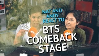 Nat and Andy react to BTS