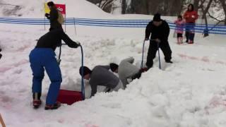 地面出し競争2011WorldCupin肘折