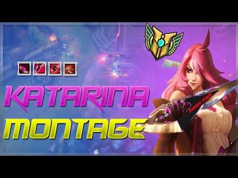 Katarina Montage #12 - Best Plays | Dagger Stuck - League of Legends