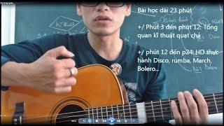 preview picture of video 'Học guitar quạt chả tổng quan (Accord basic) (Bài 16 - GPT guitar school)'