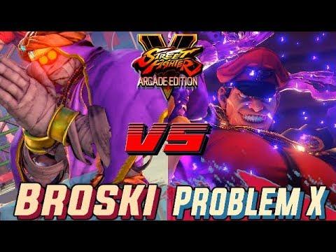 SFV AE 💥  Broski (Dhalsim) VS Problem X (M.Bison) 🔥Ranked set🔥