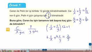 Eğitim Vadisi TYT Matematik 21.Föy İşçi Problemleri Konu Anlatım Videoları