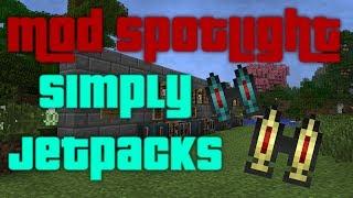 Simply Jetpacks 0.1.3 Mod Spotlight - 1.6.4 Tutorial