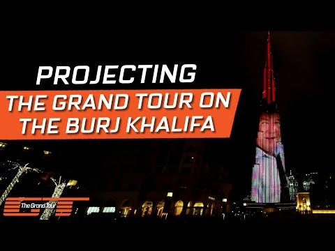The Grand Tour: Burj Projection
