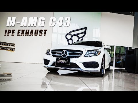 The iPE Exhaust for Mercedes-AMG C43 (W205)