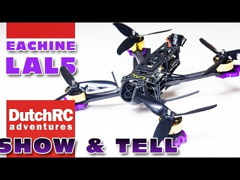 First detailed look at the Eachine LAL5 - 4K FPV drone