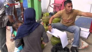 BELI ELPIJI 3KILO WARGA HARUS NGANTRI  KOMPAS NEWS ACEH 12/01/2016