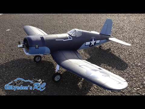 Parkzone F4U-1A Corsair Parkflyer WWII Warbird RC Plane Unboxing, Maiden Flight, and Flight Review