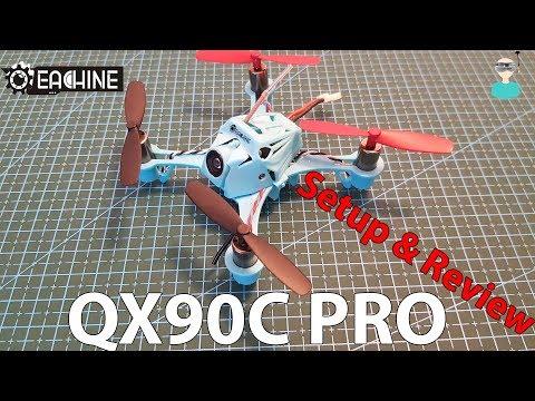 Eachine QX90C Pro - Unboxing, Review & Test Flights