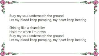 B.o.B - Chandelier Lyrics