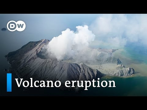 New Zealand volcano eruption 'too dangerous' for rescue crews | DW News