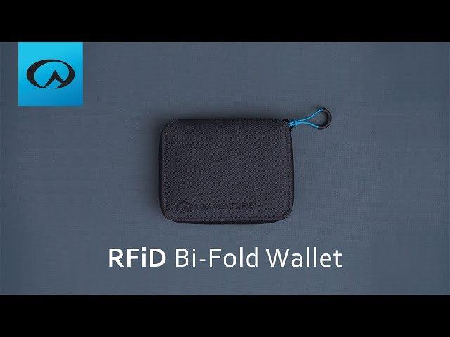 Видео Кошелек Lifeventure RFID Bi-Fold Wallet aubergine
