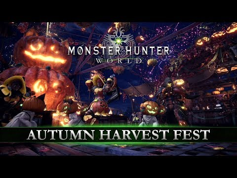 Monster Hunter: World - Autumn Harvest Fest Event Begins for Console
