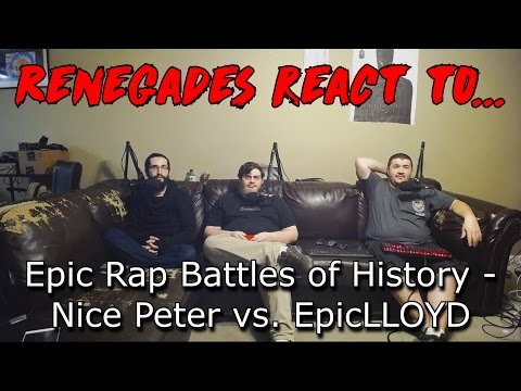 Renegades React to... Epic Rap Battles of History - Nice Peter vs. EpicLLOYD