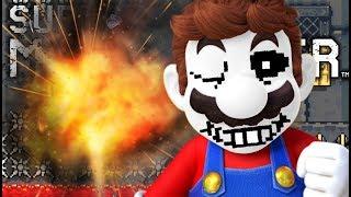 Unfair Mario?? More Like UNFAIR SANS!!! | Super Mario Maker Course Submissions