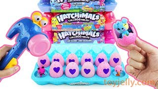 Unboxing Surprise Blind HATCHIMAL Eggs Cocotama Baby Toys with Nursery Rhymes Kids Song for Children