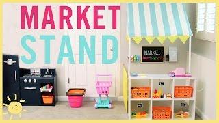 DIY | Market Stand Tutorial