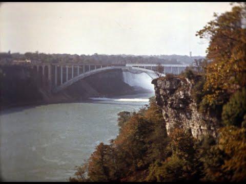 Trip to Niagara Falls 1941 (4K Version)