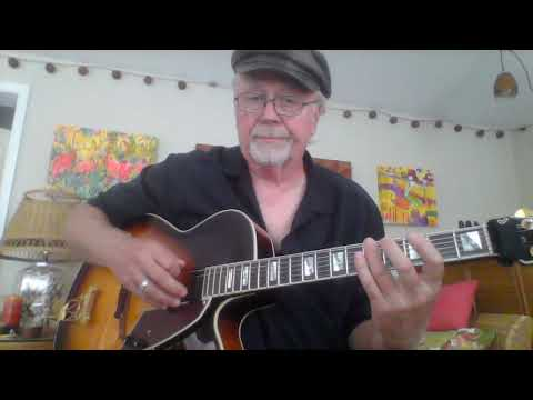 Beginner and intermediate solo jazz guitar lesson